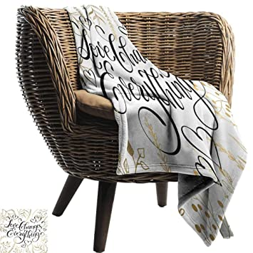 Super Amazon Com Romantic Decorative Throw Blanket Golden Foliage Andrewgaddart Wooden Chair Designs For Living Room Andrewgaddartcom