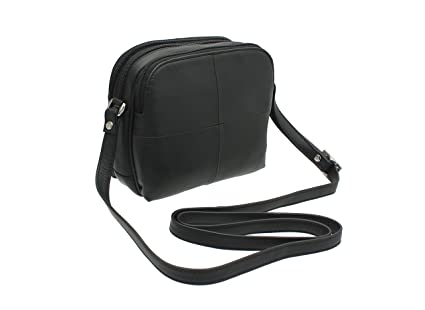5da45895b4ac Image Unavailable. Image not available for. Colour  Visconti Leather Small  Shoulder Bag Style 18939 Black