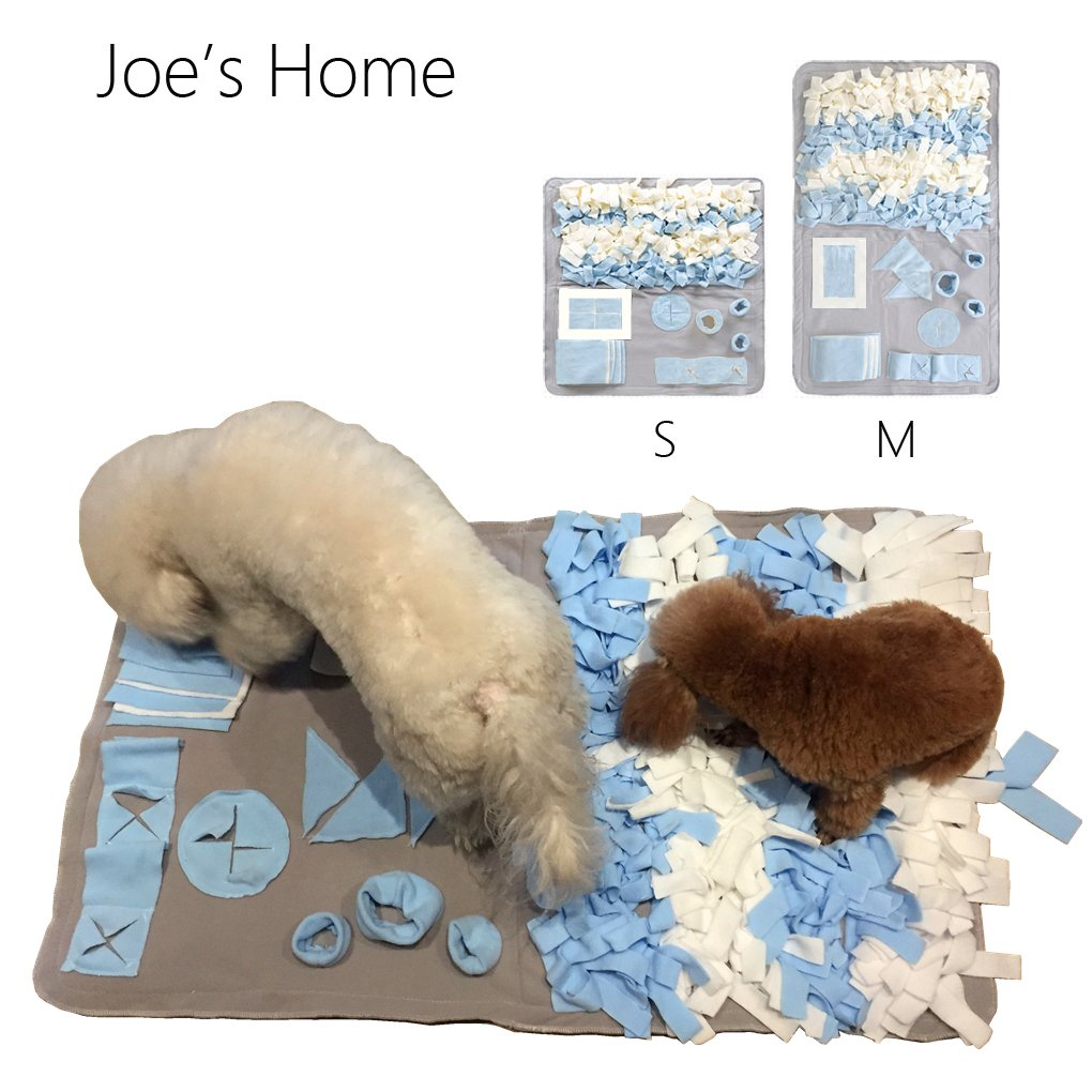 Joe's Home Dog Snuffle Mat for Small Large Dogs, Dog Nosework Blanket, Dog Toy Mat, Nose Work Mat for Dogs, Dog Play Mat Sniffing Training Pad Fun Mats, Great for Stress Release by Joe's Home