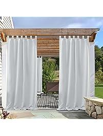 Amazon Com Outdoor Curtains Patio Lawn Amp Garden