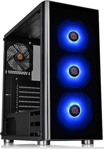 صندوق كمبيوتر الألعاب مكعب الشكل كور v1 اس بي سي سي ميني آي تي اكس من ثيرمالتيك، بلوحات جانبية قابلة للتبديل، وبتصميم صغير الحجم
