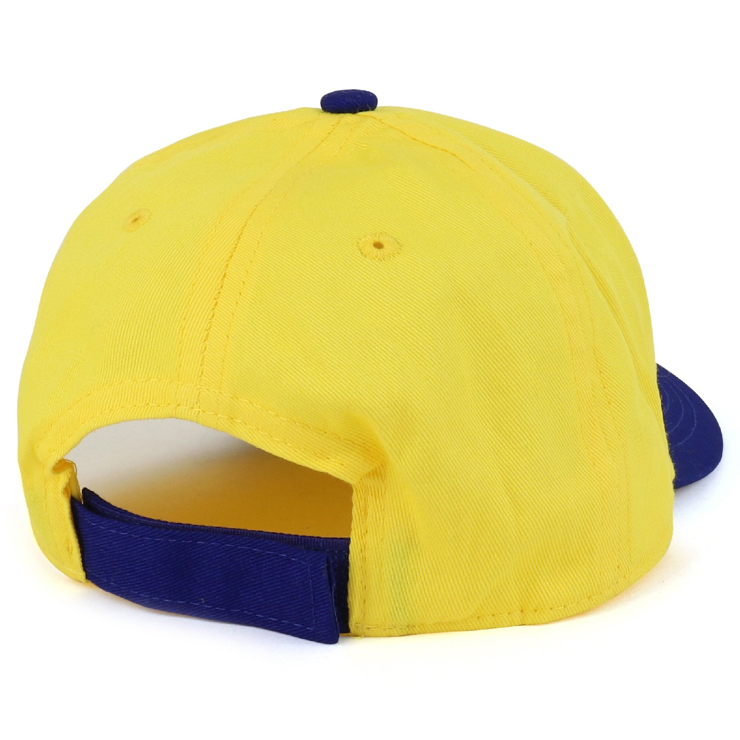 Trendy Apparel Shop Boys Kid's Despicable Me Minions Bob Blue Baseball Cap - Yellow by Trendy Apparel Shop (Image #3)