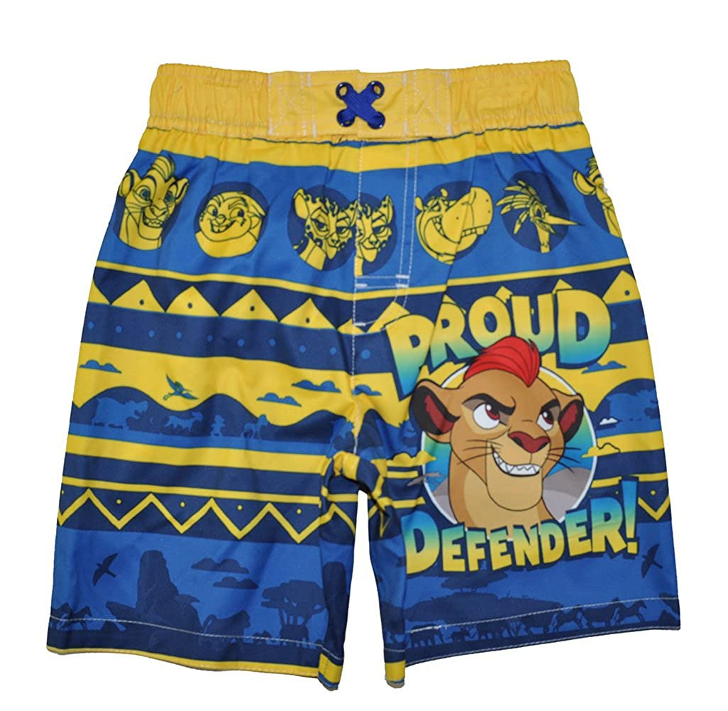 Amazon.com: The Lion Guard Little Boys Toddler Character Print Swim Short: Clothing