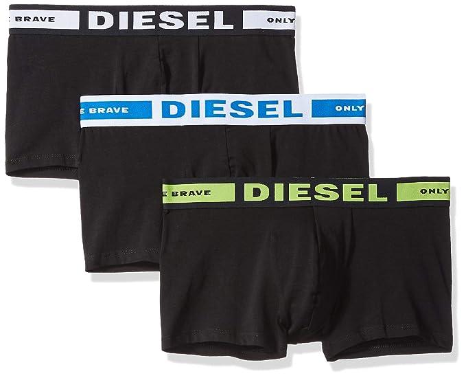 Diesel UMBX-KORYTHREEPACK, Bóxer para Hombre, (Green/Blue 12),