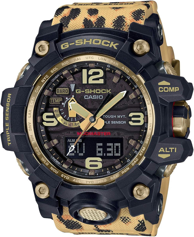 Amazon Com Casio G Shock Wildlife Promising Mudmaster Gwg 1000wlp 1ajr Limited Edition Mens Watches