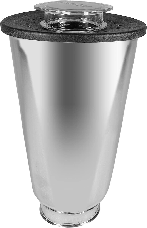 Oster 004887-050-000 - Jarra de acero inoxidable redonda 5 tazas ...