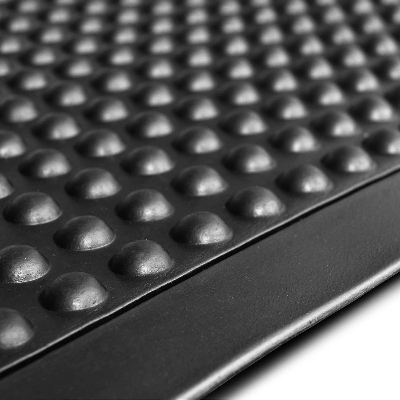 Anti- Erm/üdungsmatte f/ür Steharbeitspl/ätze Entlastung f/ür Beine und Gelenke viele Gr/ö/ßen Arbeitsplatzmatte Bubble Runner rutschhemmend 90x450 cm