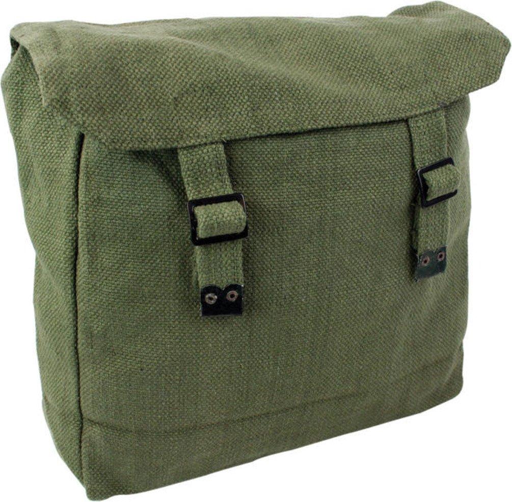 Highlander Large Web Army Style Canvas Backpack