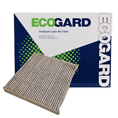 Ecogard XC35519C Premium Cabin Air Filter with Activated Carbon Odor Eliminator Fits Acura MDX 2007-2020, TL, RDX 2007-2020, TSX 2004-2014, TLX 2015-2020, ILX 2013-2020, RL 2005-2012: Automotive