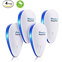 4-Pack Fiery Youth Ultrasonic Pest Control Repeller