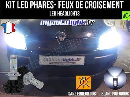 de led alto rendimiento Kit faros H7 para de bombillas OuPXikZ