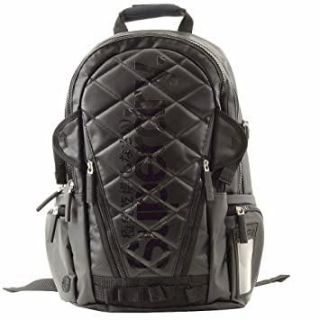 Amazon.com: Superdry Japan - Black Quilted Tarp Backpack: Sports ... : superdry quilted rucksack - Adamdwight.com