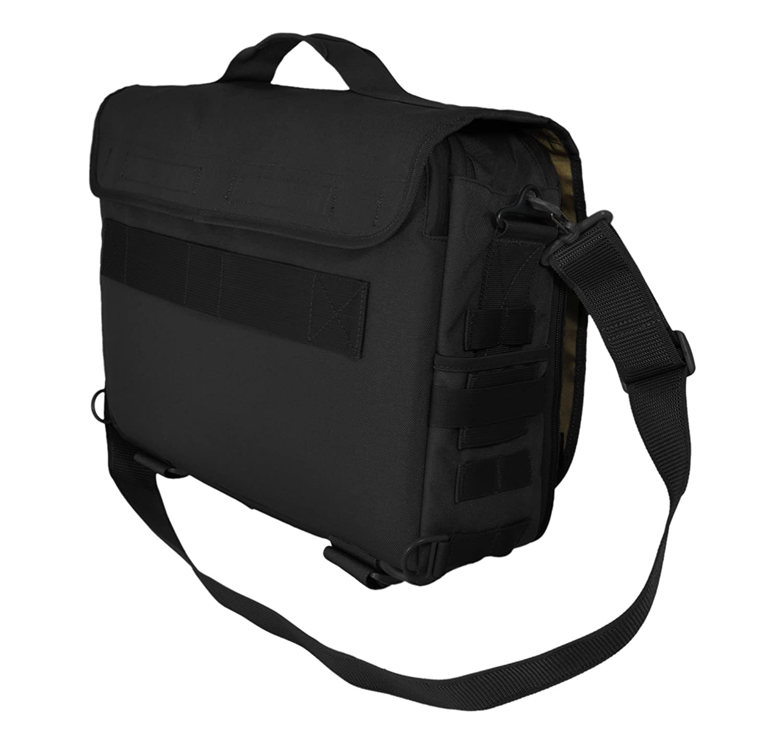 R 18.7 Liter Mod Laptop Messenger//Briefcase//Go-Bag with Molle Black MSG-MOD-BLK HAZARD 4 MOD TM Laptop-Messenger//Briefcase//Go-Bag w//MOLLE