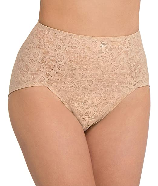 3fb36138c Image Unavailable. Image not available for. Color  Bali Lace  N Smooth Firm  Control Brief ...
