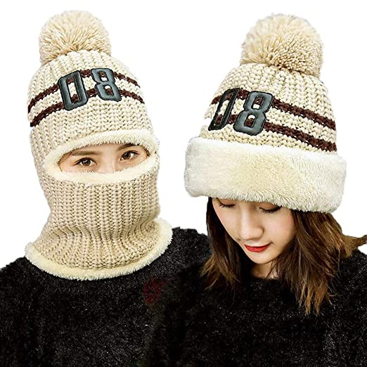 Sombreros y gorras XUERUI Sombrero Y Bufanda Señoras Chicas ...