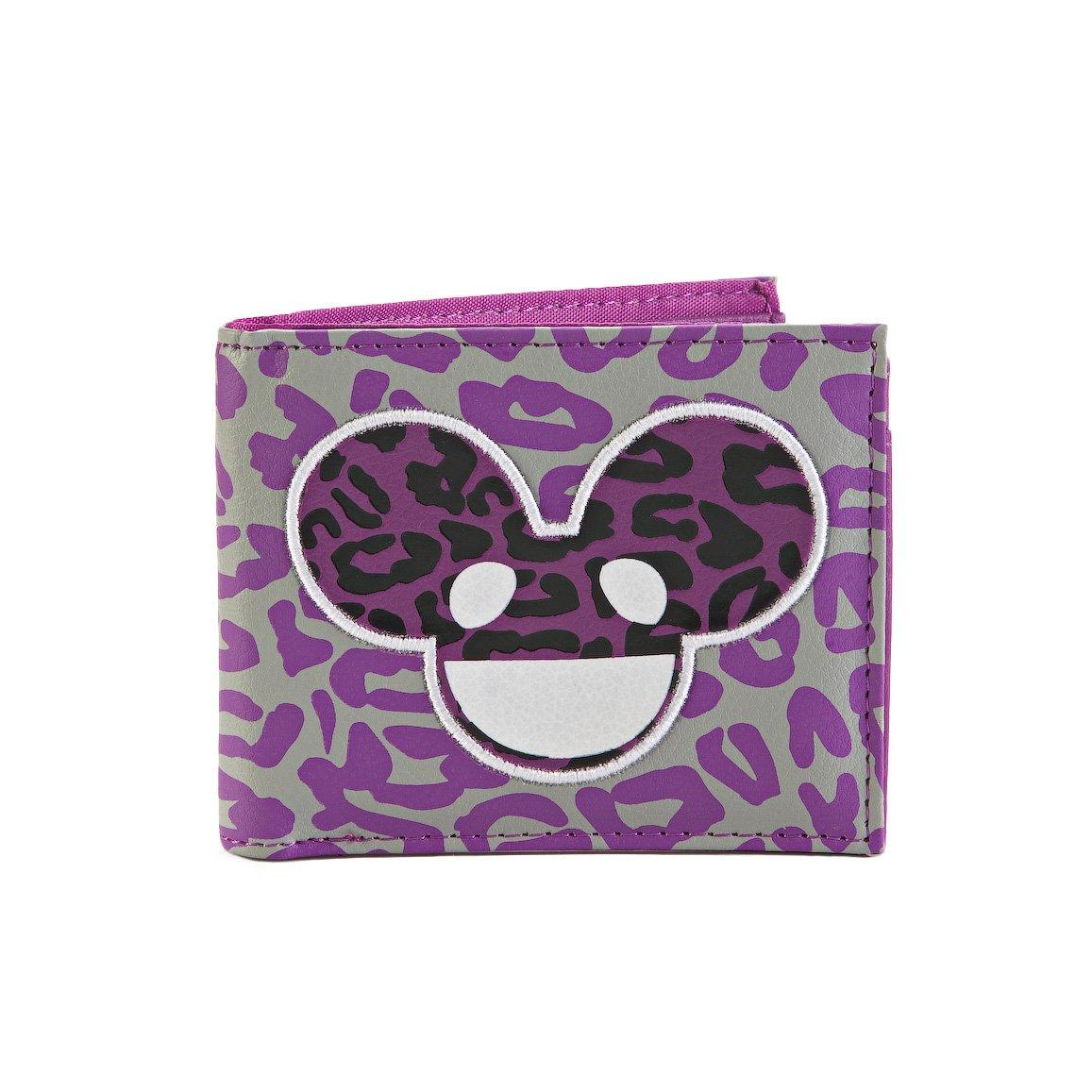 Deadmau5 Leopard Print Purple Bifold Wallet