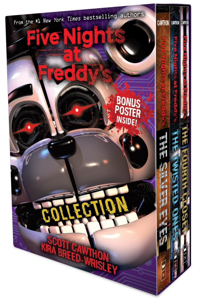 Five Nights at Freddy's 3-book boxed set: Amazon co uk
