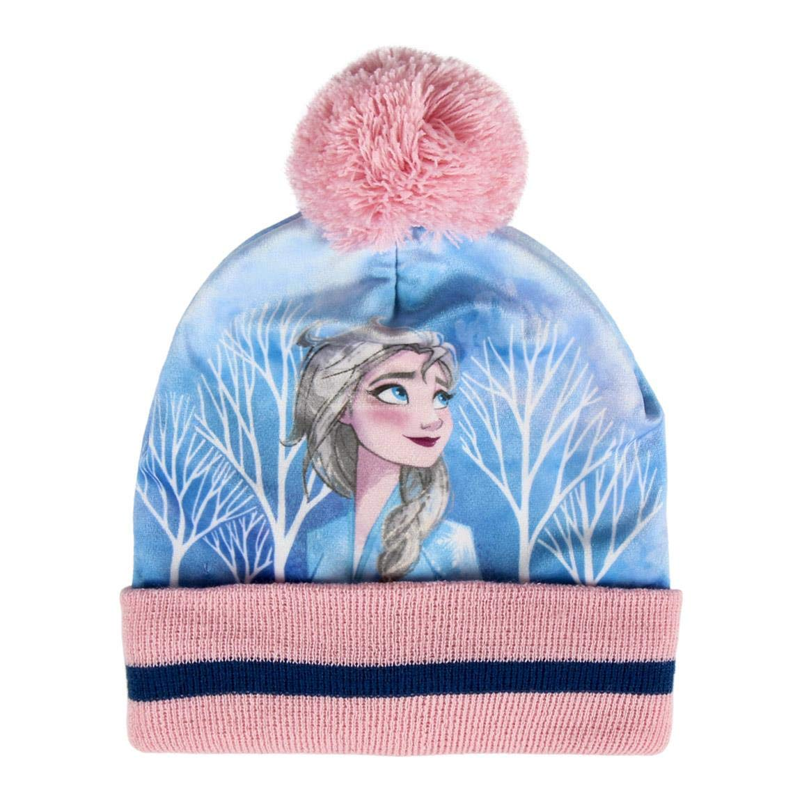 22-43XX Set Invernale 2 o 3 pz Cappello Guanti e Scaldacollo Frozen Movie II Disney Elsa e Anna Bambina