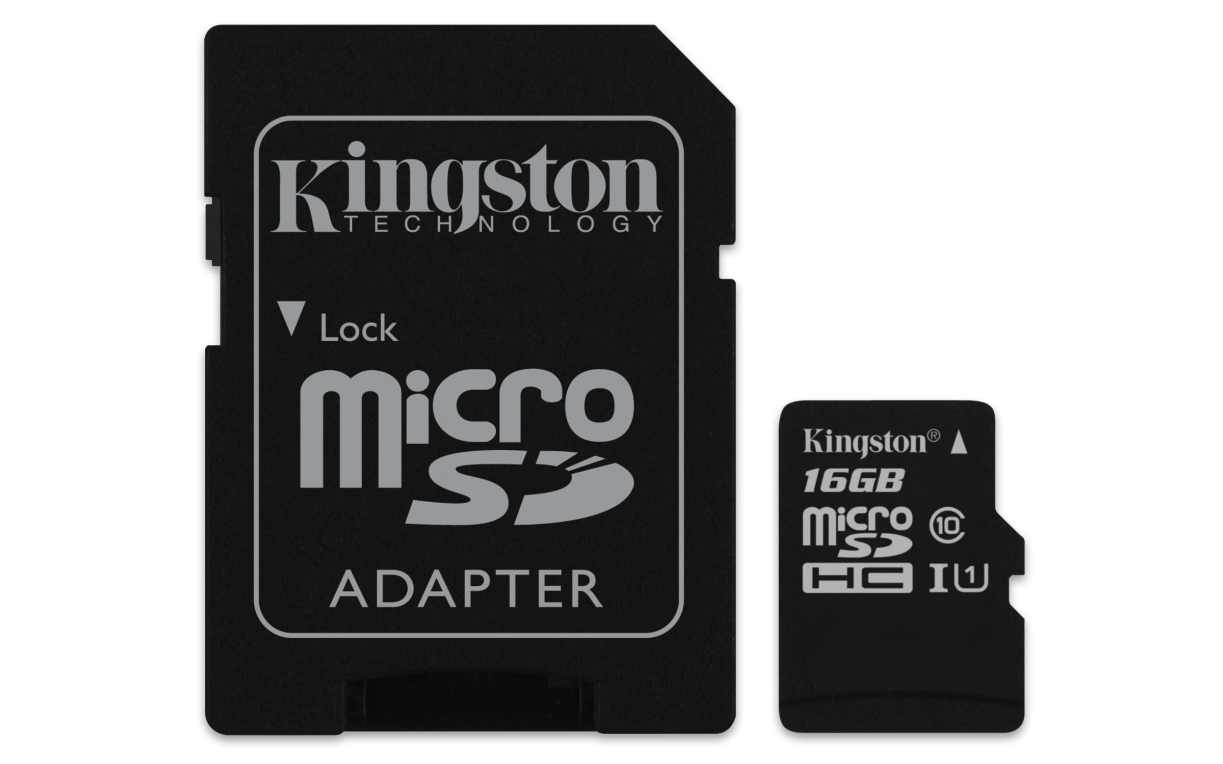 Kingston Digital 16GB Micro SDHC UHS-I Class 10 Industrial..