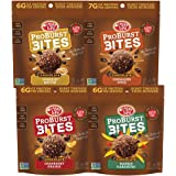 Enjoy Life ProBurst Protein Bites, Gluten-Free, Dairy-Free, Nut-Free, Soy-Free and Vegan, Chocolate Variety Pack, 6.4 Ounce (4 Count)