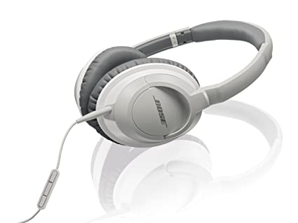 Amazon.com  Bose AE2i Audio Headphones (White) (Discontinued by ... 50d05e102d75
