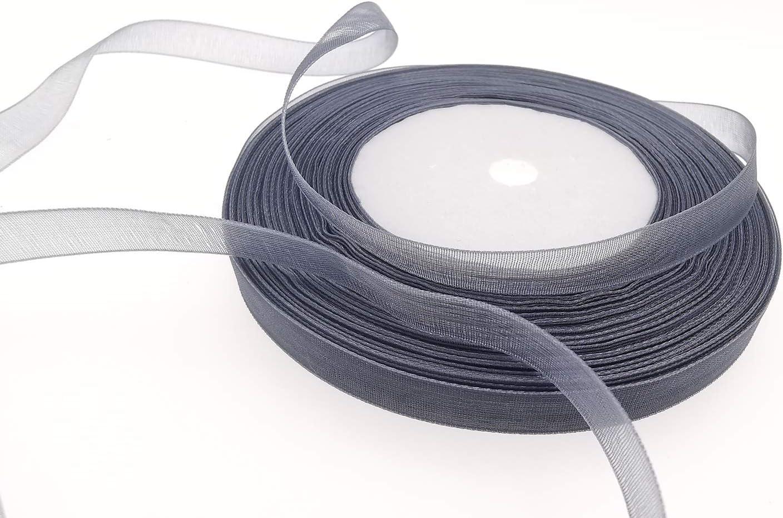 38 inch wide White Sheer Organza Ribbon 5 Yards for scrapbooking crafts journals sewing sheer ribbon organdy ribbon white ribbon snow wed