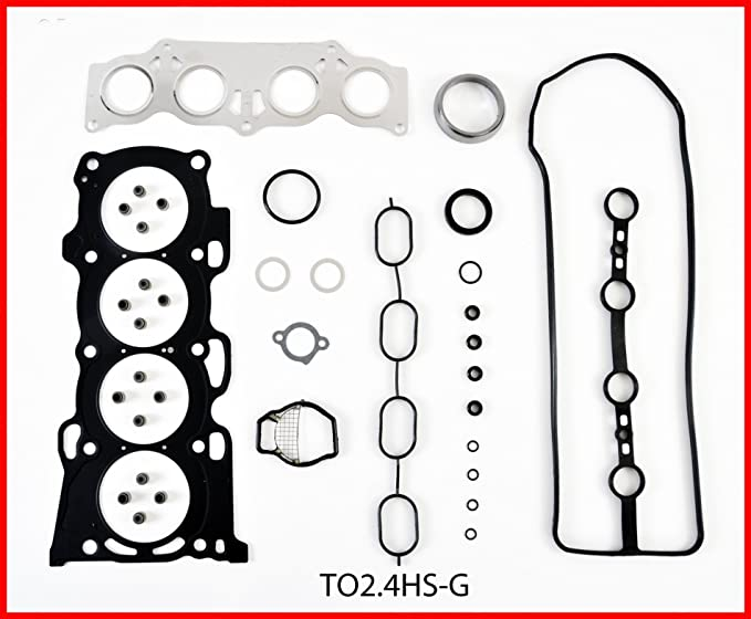 Engine Rebuild Overhaul Kit FITS 2002-2006 Toyota Scion 2.4L DOHC L4 16v 2AZFE Camry Rav4 Highlander TC