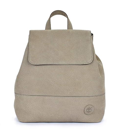 Timberland - Bolso mochila de Cuero para mujer Beige topo M: Amazon.es: Zapatos y complementos