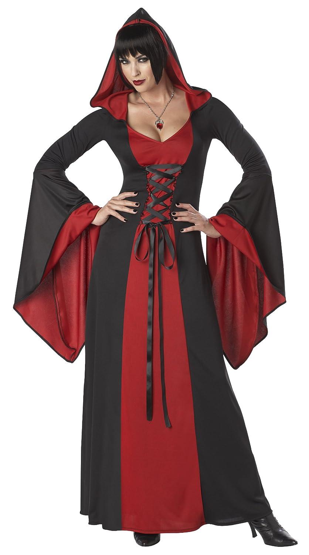 Amazon.com: California Costumes Deluxe Hooded Robe Adult Costume ...