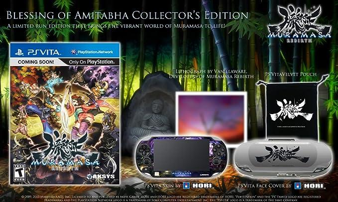 Muramasa - Edición Coleccionista: Amazon.es: Videojuegos