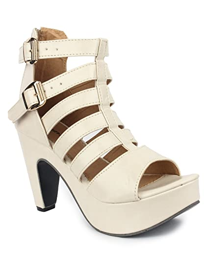 75fc65b04406 DIGNI Women Gladiator Heel Sandal  Buy Online at Low Prices in India -  Amazon.in