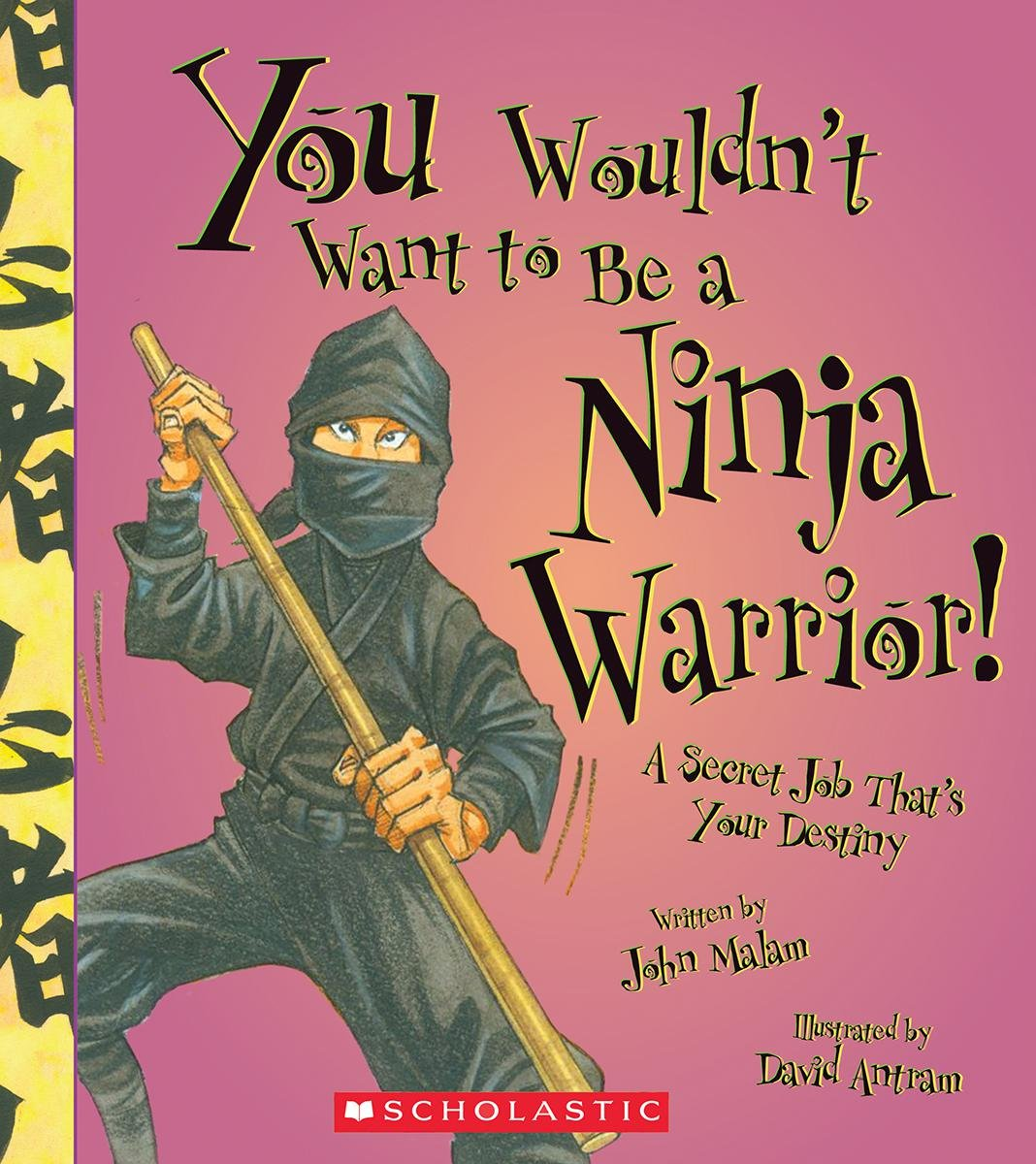 You Wouldn't Want to Be a Ninja Warrior!: A Secret Job That's Your Destiny