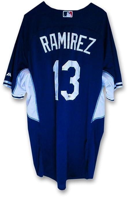 Hanley Ramirez LA Dodgers Team Issue Batting Practice Jersey  13 MLB  HZ515266 04db3b17411