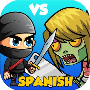 Amazon.com: Ninja vs Zombies - Spanish Word Game, Words ...