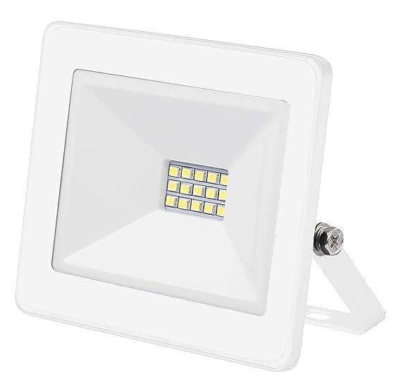 MI-LED Proyector K Blanco 10W 6500K, 10 W: Amazon.es: Iluminación