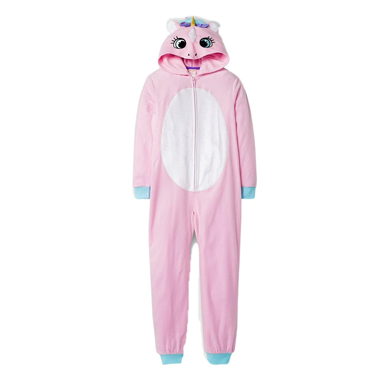 Cat /& Jack C /& J Girls Unicorn Hooded Blanket Sleeper Pink XS S XL M L