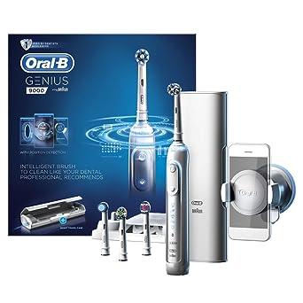 Oral B ob256 Genius 9000 para cepillo de dientes eléctrico, color blanco