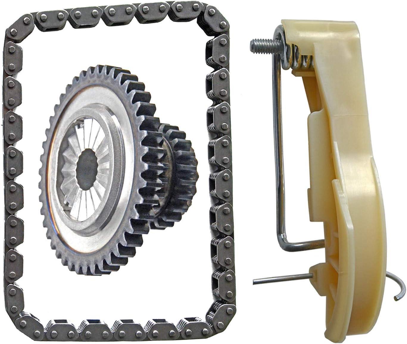 Timing Chain Gear Kit For Audi A3 A4 A5 A6 Q5 Quattro VW Tiguan Jetta CC EOS GTI Beetle 2.0T GAS DOHC Part#06H109507N