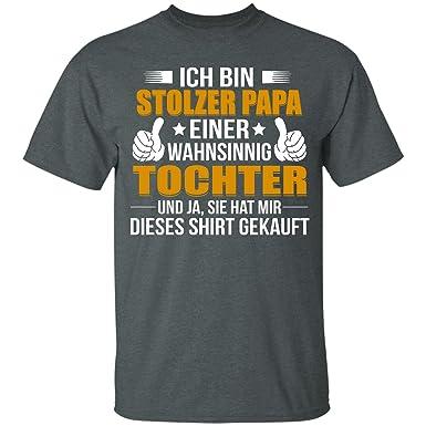 Ich Bin Stolzer Papa T Shirt Bester Herren Tshirt Werdender Papa