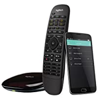Logitech Harmony Companion All-in-One Remote Control for Smart Home and Entertainment Devices, Hub & App, Works With Alexa, Black (915-000239)