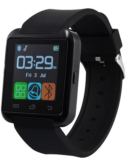 AMPM24 Reloj Inteligente con Pantalla Táctil Bluetooth para Android y IOS, Correa de