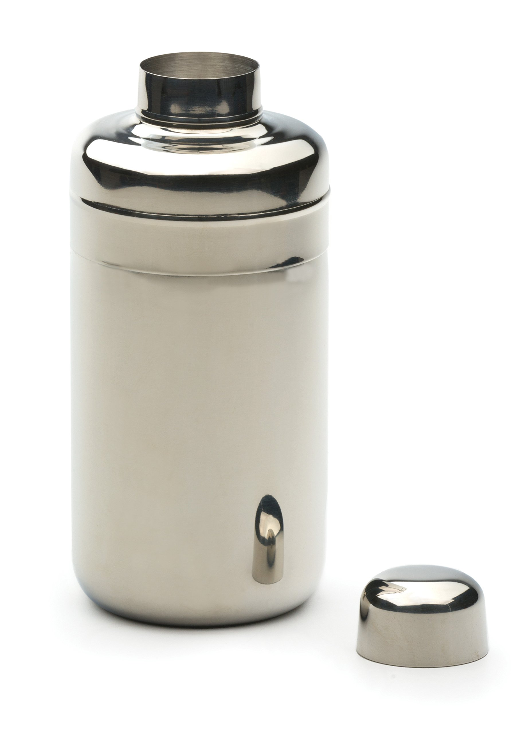 RSVP Endurance 18/8 Stainless Steel Modern Design Cocktail Shaker, 24 Ounce (MCS-24)
