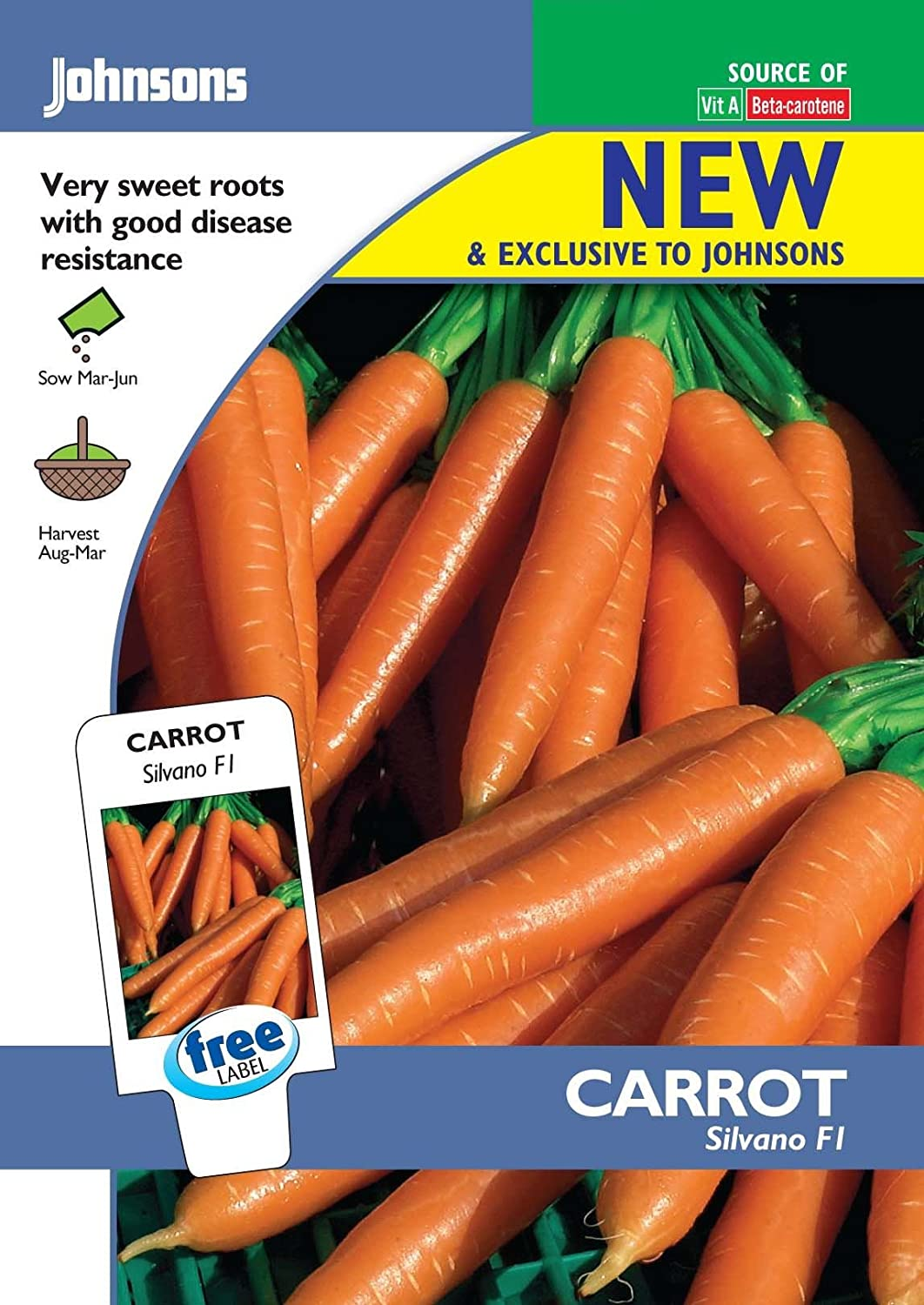 Vegetable Pictorial Pack Beetroot Cardeal F1-100 Seeds Johnsons Seeds