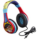 Ryans World Kids Headphones, Adjustable Headband, Stereo Sound, 3.5Mm Jack, Wired Headphones for Kids, Tangle-Free…