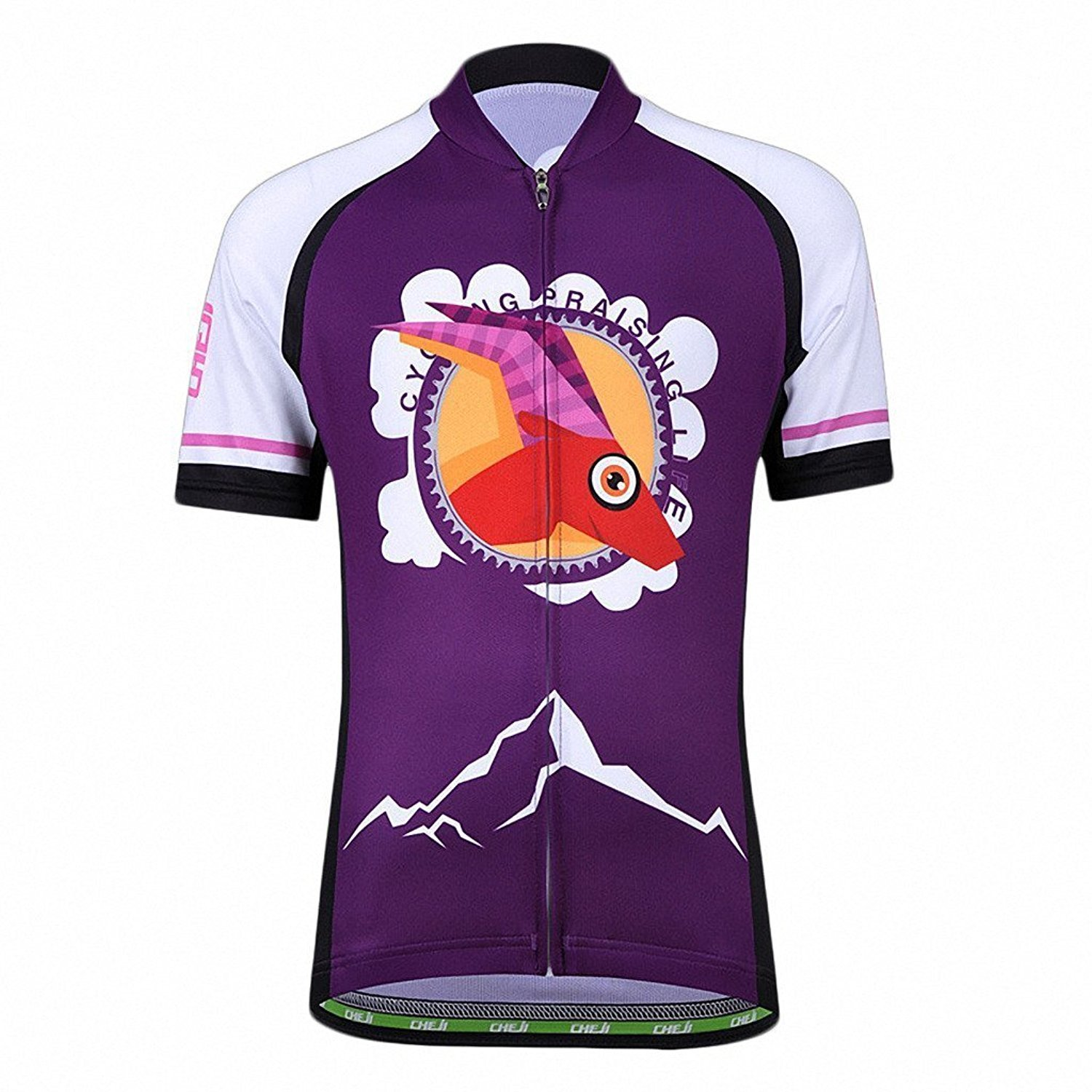 Value Sport Kids Cycling Jersey Set (Short Sleeve Jersey + Padded Shorts) by Value Sport