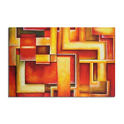 Large canvas cloth painting Frame Modern Abstract Textured Canvas ...