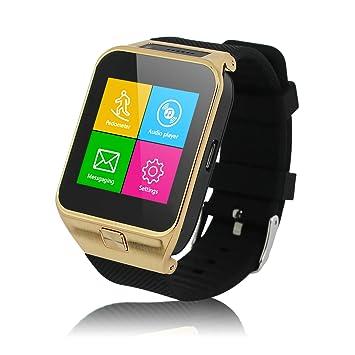 Excelvan PW4-G Smartwatch Móvil Libre 2G (Reloj Bluetooth, Cámara ...
