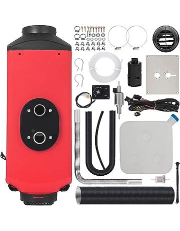 Mophorn Calentador de Diesel 12V 2KW Calentador de Aire de Diesel de Alumnio con Interruptor LCD Calefacci/ón Estacionaria para Barcos Autob/ús