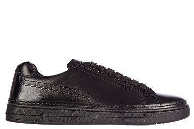 4acf788f108c Prada Herrenschuhe Herren Leder Schuhe Sneakers nevada calf Schwarz EU 39.5  4E2831 O64 F0002