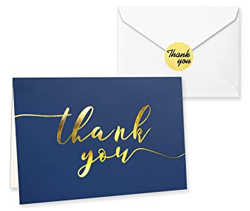 Custom Beach Thank You Cards Personalized Thank You Notes Tropical Destination Wedding Illustrated String Lights Navy Blue Notecards